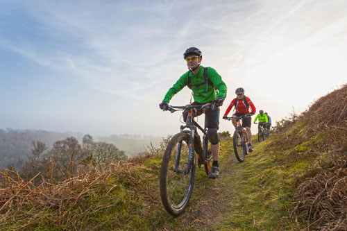 Mountain Biking and Cycling